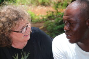 Okala, mein Partner auf Sansibar, und ich